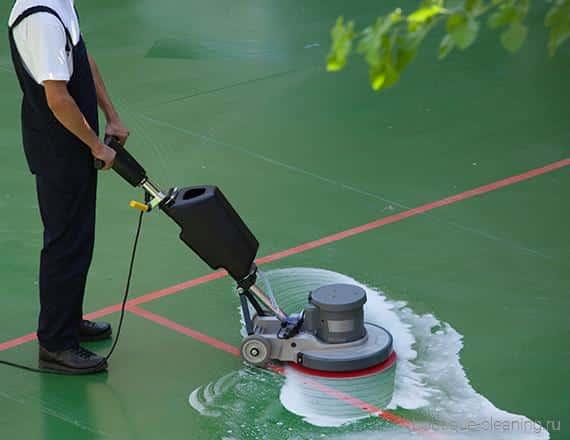 Põrandate süvapesu ja vahatamine